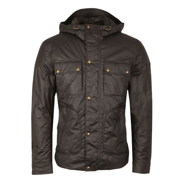 Belstaff Mens Blue Ravenswood Wax Jacket main image