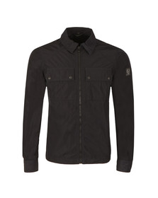 Belstaff Mens Blue Shawbury Overshirt
