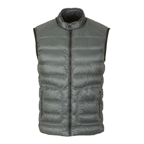 Belstaff Mens Blue Harbury Down Gilet main image
