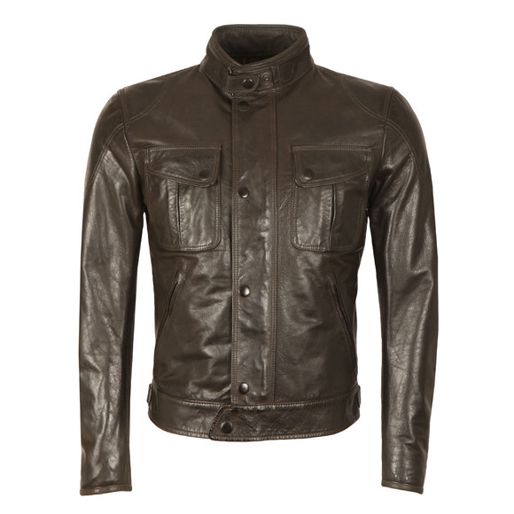 Matchless Mens Black Mick Leather Blouson  main image