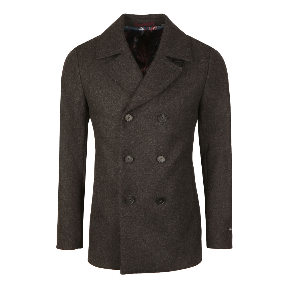 Zachary Wool Peacoat main image