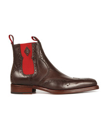 Jeffery West Mens Brown Dexter Novikov Boot