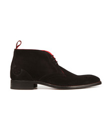 Jeffery West Mens Black Waster Libertine Suede Boot