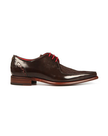 Jeffery West Mens Brown Joint  Melly Shoe