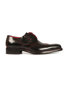 Jeffery West Mens Black Dexter Flame Shoe