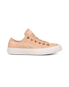 Converse Womens Pink All Star Shimmer Suede Ox