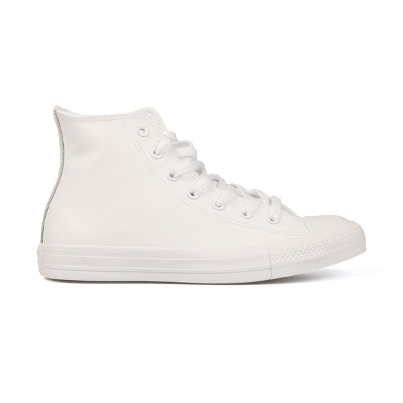 963a0882cb5d Converse Womens White All Star Leather Hi main image