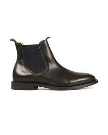 H By Hudson Mens Black Wynford Chelsea Boot