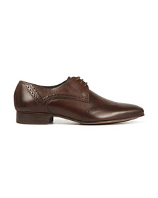 H By Hudson Mens Brown Erato Brogue