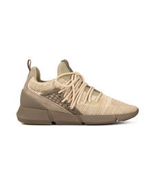 Cortica Mens Beige Rapide Knit Trainers
