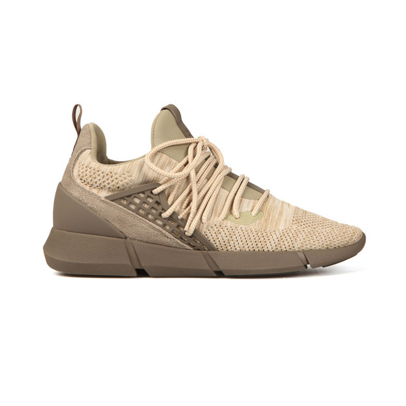 Cortica Mens Beige Rapide Knit Trainers main image
