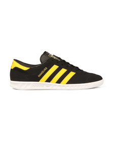 Adidas Originals Mens Black Hamburg Trainer