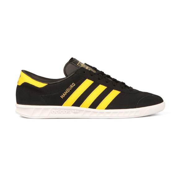 Adidas Originals Mens Black Hamburg Trainer main image
