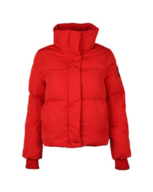 Superdry Womens Red Cocoon Jacket