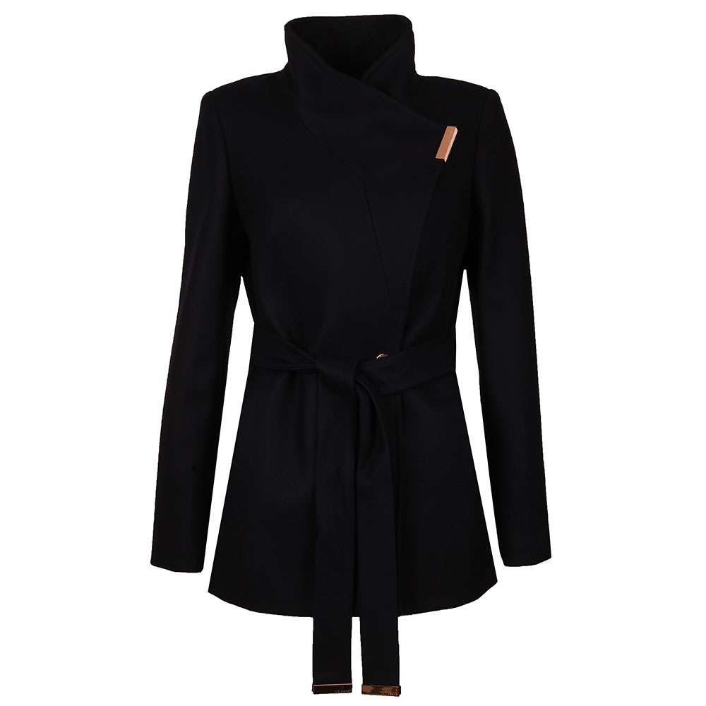 running shoes size 7 get new Ted Baker Keyla Short Wrap Coat | Oxygen Clothing