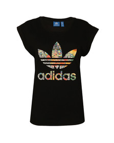 Adidas Originals Womens Black Jardim A T-Shirt