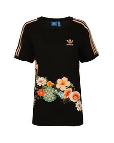 Adidas Originals Womens Black Jardim A Tee