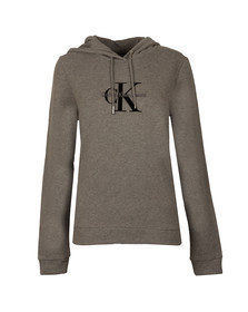 Calvin Klein Womens Grey Honor Pullover Hoody