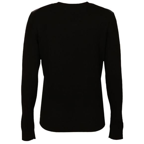 Ted Baker Womens Black Holiee Chelsea Woven Jumper main image