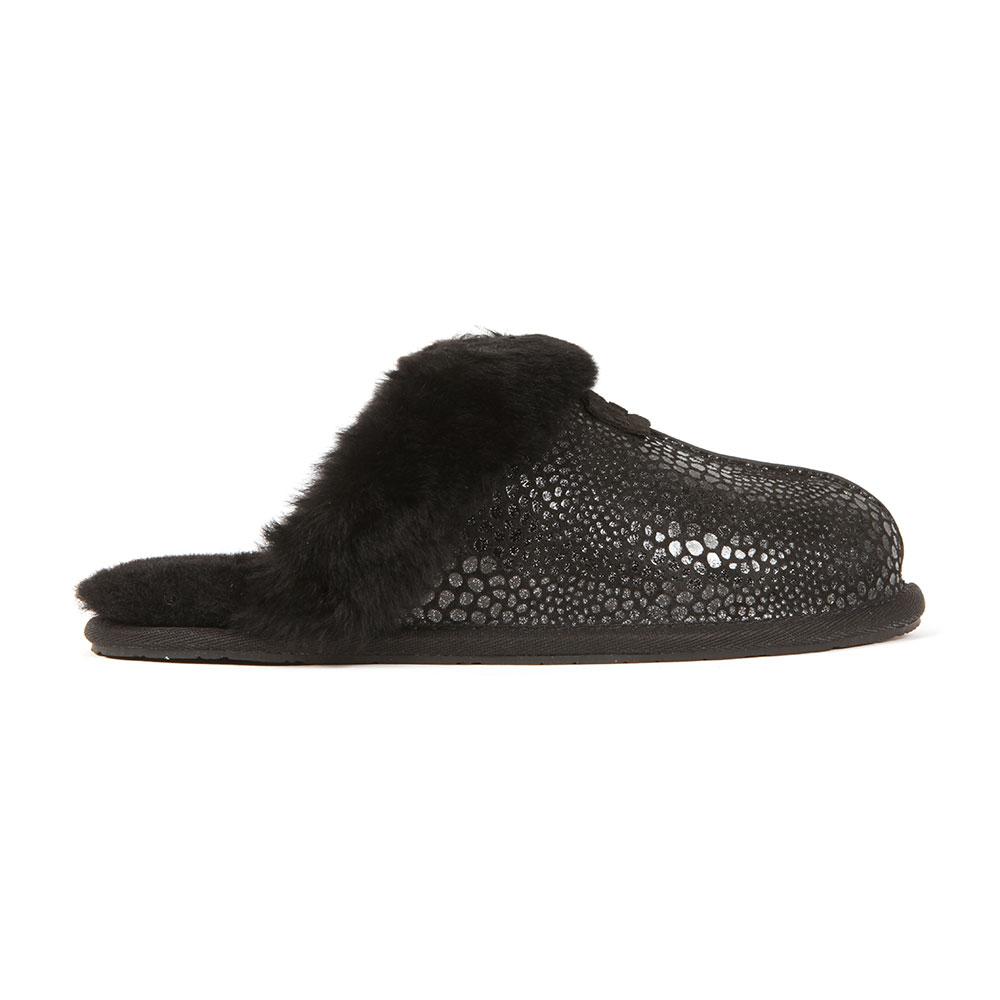 eb857855683 Womens Black Scuffette II Glitzy Slipper