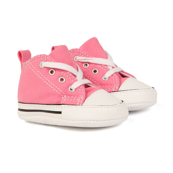 Converse Unisex Pink Converse First Star Canvas main image