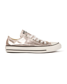 Converse Womens Pink All Star Metallic Ox