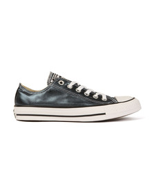 Converse Womens Blue All Star Metallic Ox