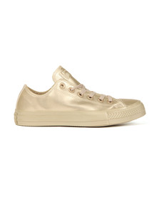 Converse Womens Gold All Star Liquid Metallic Ox