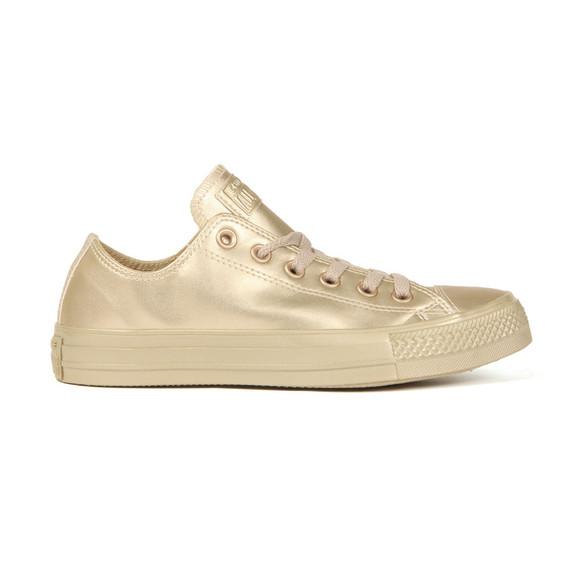 Converse Womens Gold All Star Liquid Metallic Ox  main image
