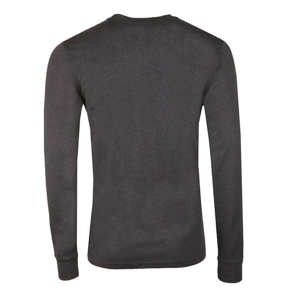 Carhartt Mens Blue Long Sleeve Pocket T Shirt main image