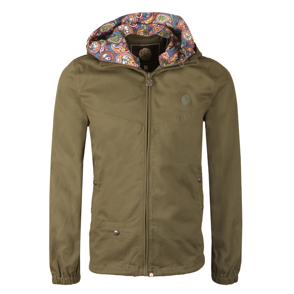 Beckford Cotton Zip Up Hooded Jacket main image