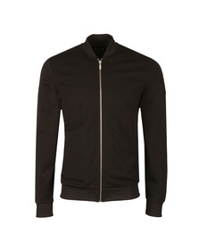 Barbour International Mens Black Full Zip Sweat