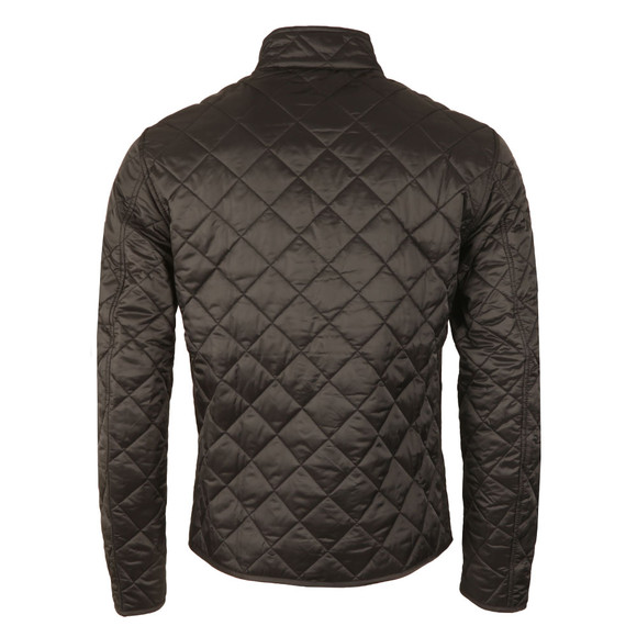 Barbour International Mens Black Gear Quilted Jacket main image