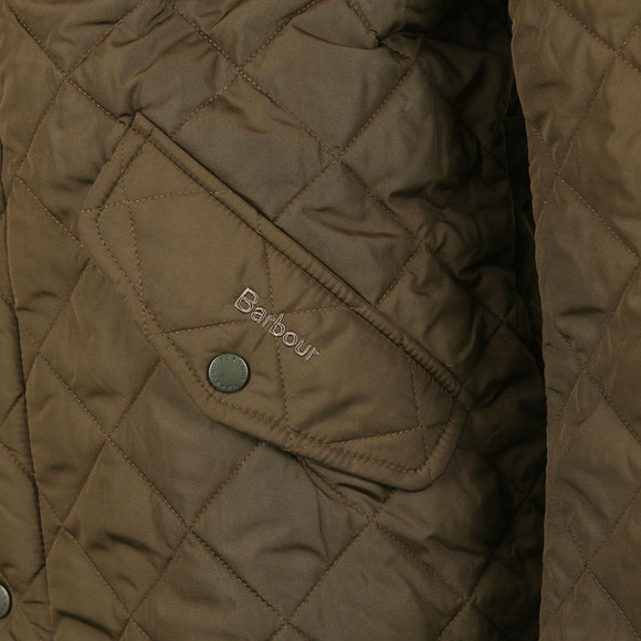 Barbour Lifestyle Mens Green Chelsea Quilt Jacket main image