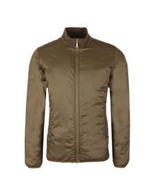 Barbour International Mens Green Gabion Quilt Jacket