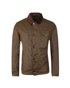 Barbour Steve McQueen Mens Green Deck Wax Jacket