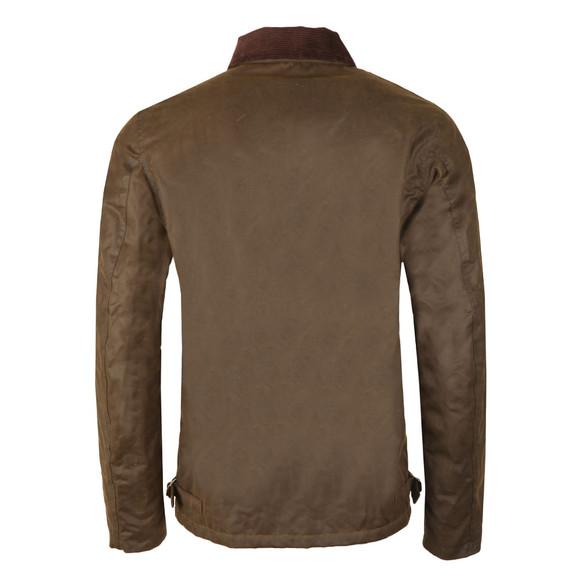 Barbour Steve McQueen Mens Green Deck Wax Jacket main image