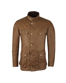 Barbour International Mens Brown Duke Wax Jacket