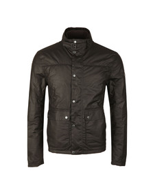 Barbour International Mens Black Inlet Wax Jacket