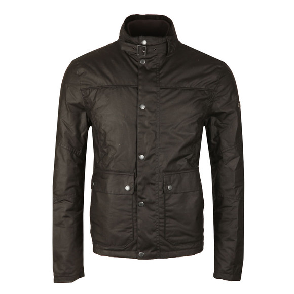 Barbour International Mens Black Inlet Wax Jacket main image