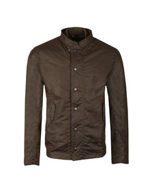 Barbour Heritage Mens Green Ash Wax Jacket