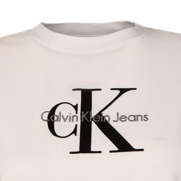 Calvin Klein Womens White Teco-11 True Icon Tee main image