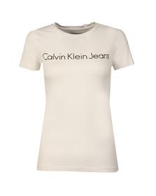 Calvin Klein Womens White Tamar-44 Tee