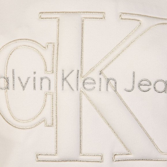 Calvin Klein Womens White Harper Sweatshirt main image