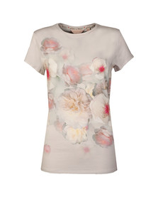 Ted Baker Womens Grey Tamraa Chelsea Fitted Tee