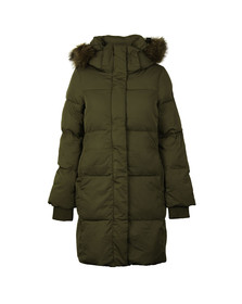 Superdry Womens Green Cocoon Parka