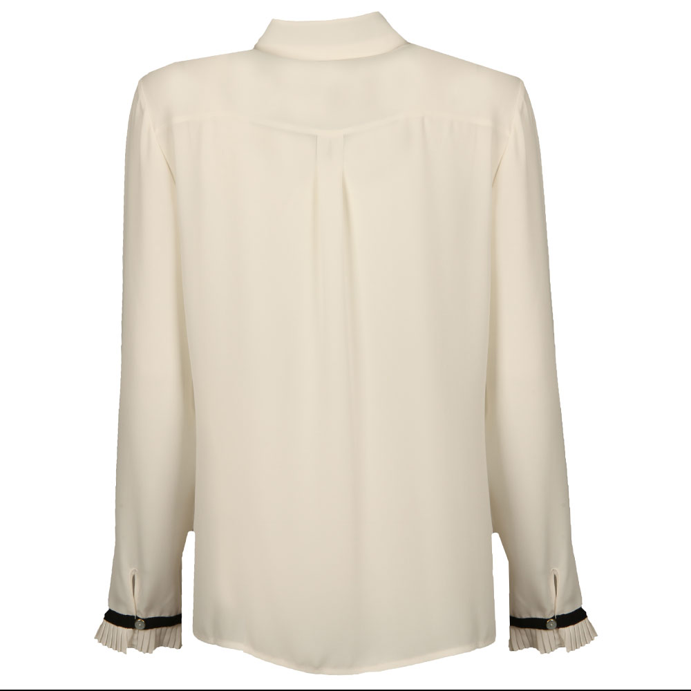 Kavita Pleated Frill Long Sleeve Shirt main image