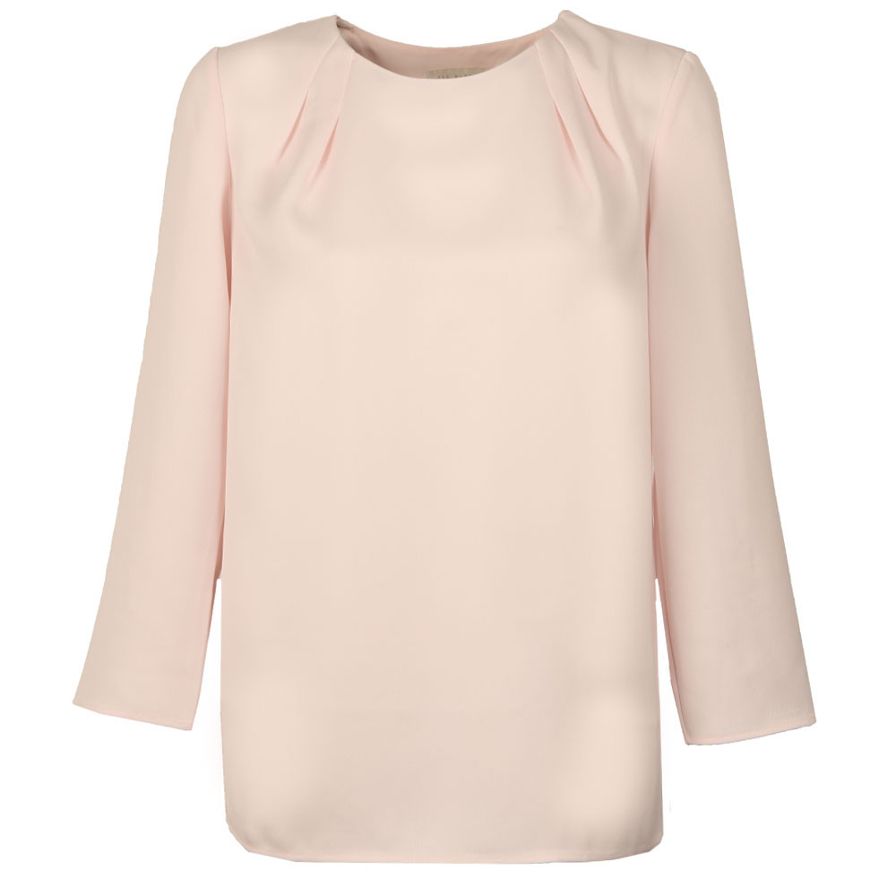 Draped Back Cropped Sleeve  Top main image
