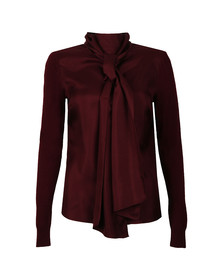 Ted Baker Womens Red Babri Large Neck Tie Jumper