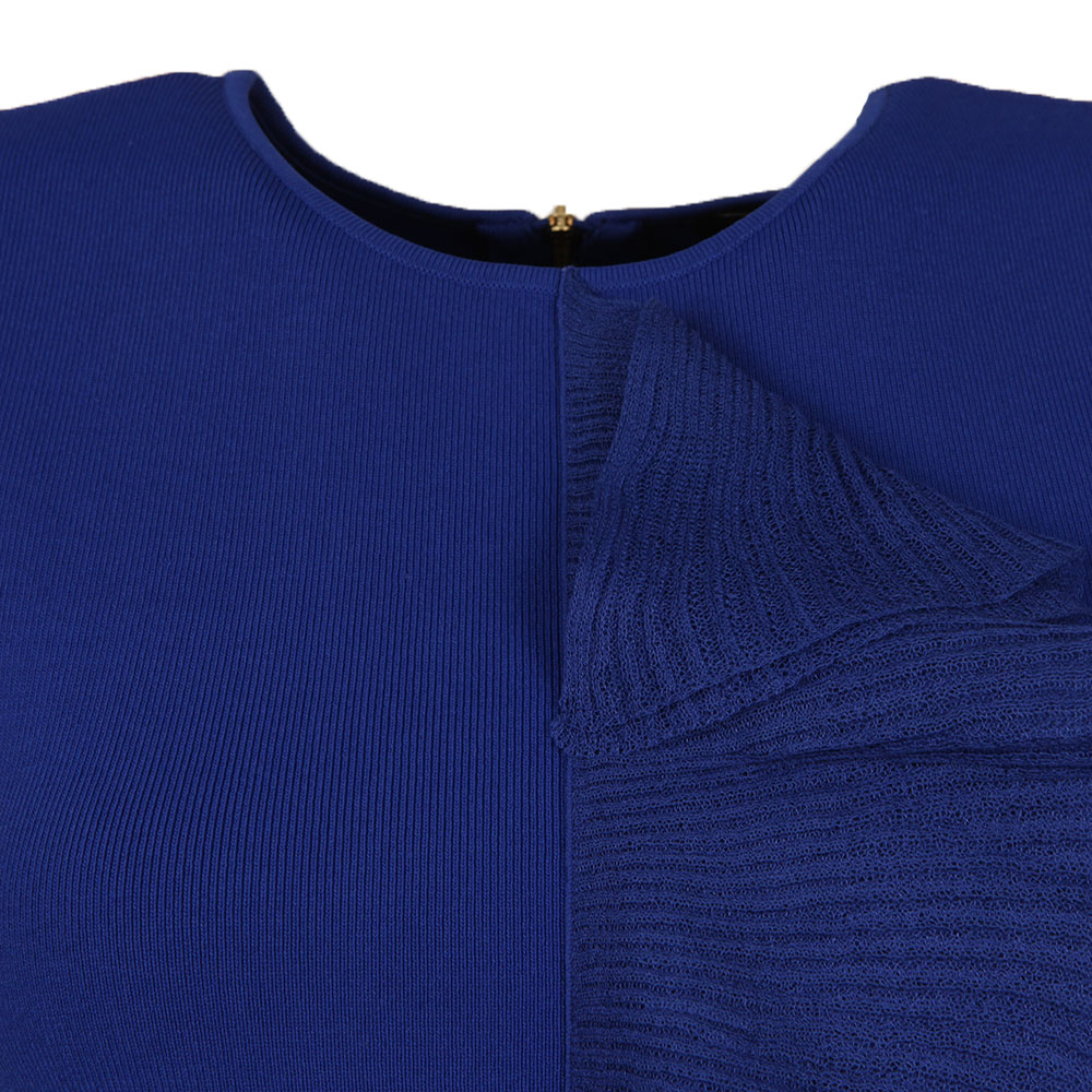 Ysabel Frill Detail Knitted Top main image